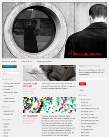 Recent cover image or website screenshot for The Buenos Aires Reader