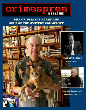 Recent cover image or website screenshot for Crimespree Magazine