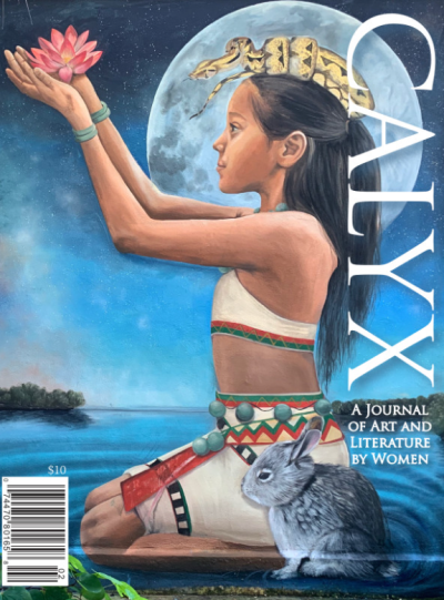 Recent cover image or website screenshot for CALYX Journal