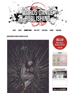 Recent cover image or website screenshot for Words Dance